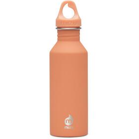 MIZU M5 Bottle with Peach Loop Cap 500ml orange
